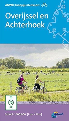 ANWB knooppuntkaart fiets Overijssel en Achterhoek