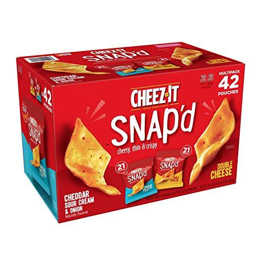 Cheez-It Snap'd, Variety Pack 0.75 Oz, 42 Pk. A1