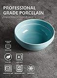 Sweese 119.003 stapelbare Porzellan-Schalen – 568 ml für Müsli, Salat – Set mit 6 verschiedenen Farben - 3