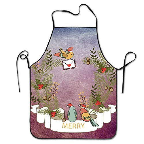 Tablier de cuisine humoristique avec inscription « Joy!Cardinaltake A Gift and Merry Christmas » pour barbecue, barbecue, barbecue, barbecue, bacon