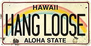 Pacifica Island Art License Plate Magnet Refrigerator Souvenir - Hang Loose