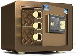 LLRYN Digital Electronic Safe Security Box, Steel Deposit Safe for Home & Office, Cabinet Safe with Keypad for Jewellery M...