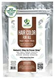 Hair Color For All Natural Hair Dye For Men & Women I 100% Natural & Chemical-Free Pure Hair & Beard Color, Golden Light Brown