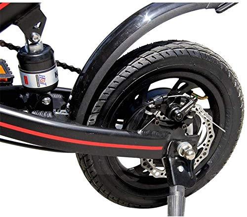 Xiaokang Scooter eléctrico Bicicleta para Adultos ultraviro Portátil de Ocio Batería Mini Scooter de Poder pequeño,A