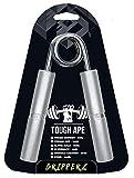 Electrifit Pinza a Mano in Metallo Resistente Ape - Grip Trainer Istruttore di Presa - Molla Cromata, Manico in Alluminio, Polso, Esercitatore per Le Dita (100lbs / 45 kg)