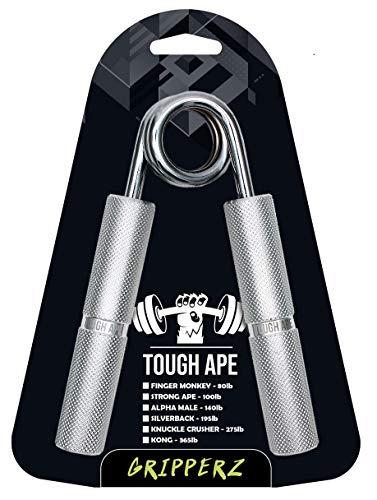 Electrifit Pinza a Mano in Metallo Resistente Ape - Grip Trainer Istruttore di Presa - Molla Cromata, Manico in Alluminio, Polso, Esercitatore per Le Dita (100lbs   45 kg)