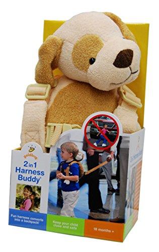 goldbug Animal Harness 迷子防止ぬいぐるみ ハーネス イヌ ブチ付 ポリエステル 23498