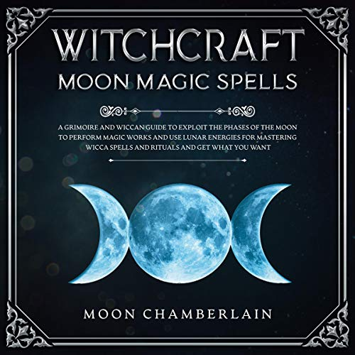 Witchcraft Moon Magic Spells cover art