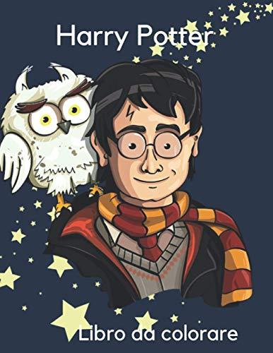 Harry Potter : Libro da colorare: Quaderno da colorare Harry Potter