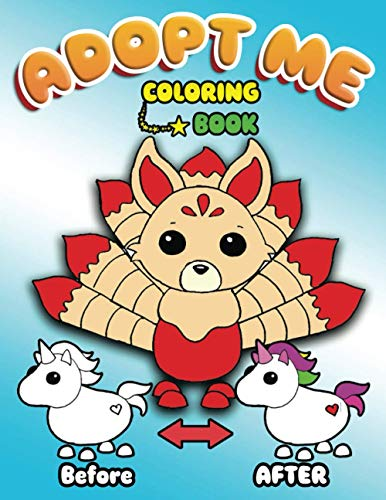 Adopt me Coloring Book: Hight Quality Coloring Pages in theme 'Adopt me Roblox' Cool Illustrations of Animals From the Famous Roblox Adopt Me. here ... Unicorn,Owl,Kangaroo,Cat,Toucan and so one