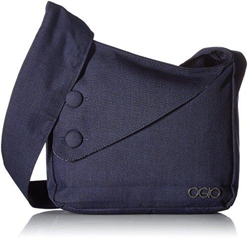 Fully padded tablet pocket Integrated cross body shoulder strap Hidden zippered pocket under front flap Soft touch satin liner. Shoulder strap length: 42 inches
