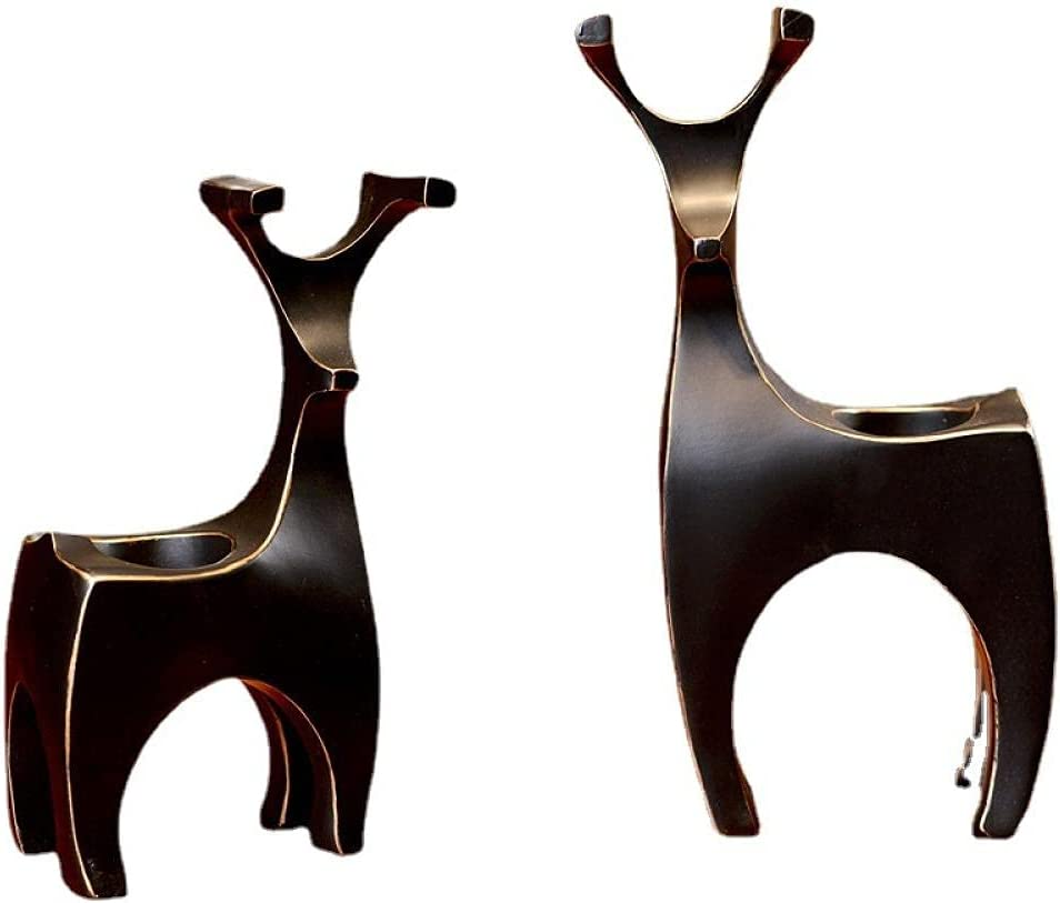 Tea Light Candle Popular brand Holders Resin furnishings elk-Shaped Wax safety Table