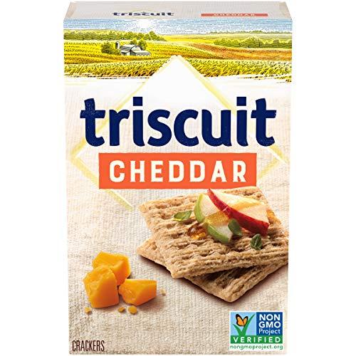 Triscuit Cheddar Whole Grain Wheat Crackers, 8.5 oz -  Mondelēz International