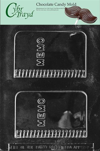 Cybrtrayd M085 Memo Book Miscellaneous Chocolate Candy Mold