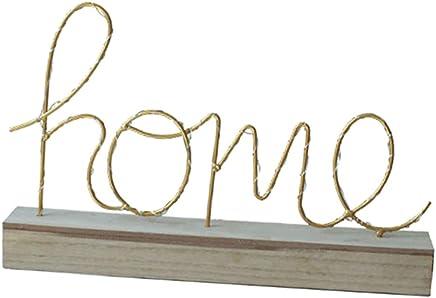 Lampe beleuchtet Hinstellen Hochzeit Schriftzug Wort Love Home Batterie Lechtdeko Alphabet Ja Liebe Romantisch Wohnzimmer Bar Leuchtbuchstaben LED Deko Buchstaben 22 cm A-Z mit warmen Licht D