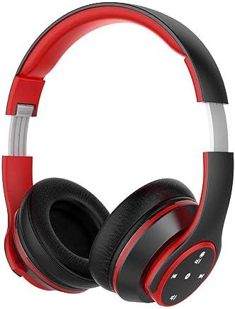 ALMD Nuovo Auricolare Bluetooth Intelligente con Cuffie Touch - Screen con Cuffie per Videogiochi Intelligenti con Cuffie per Ascoltare Cuffie per Il Movimento Nero e Rosso - Trova i prezzi più bassi