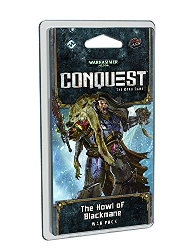 Warhammer 40,000 Conquest Lcg Howl of Blackmane War Pack Expansion