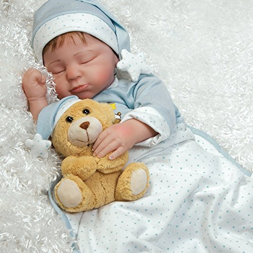 Paradise Galleries Lifelike Boy Baby Doll Lil Man in The...
