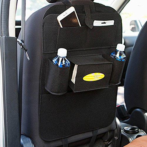 Kicode Cnvenience utile universelle Suspension de siège de voiture Support multi-poches Sac de rangement pour pochette Accessoires Fournitures