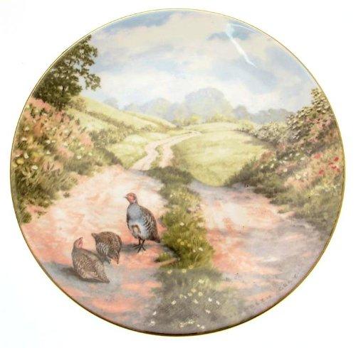 Royal Doulton C1984 Le Long de la Voie Tranquille avec Nature Elizabeth Gris Édition limitée de Seulement 10 000 plaques Tn204