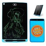 Greatlong 21,6 cm Écriture LCD pour enfants Planche à dessin électronique pour adultes, notes...