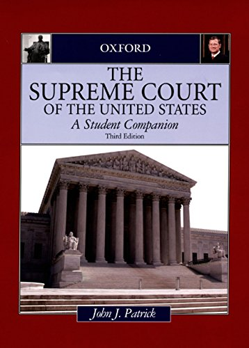 The Supreme Court of the United States: A Student Companion (Oxford Student Companions to American Government) (English Edition)