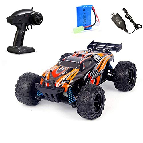 woyaochudan Electric Remote Control Off-Road Vehicle Rc Mountain Bike Toy 1:18 Scale High-Speed Off-Road Climbing Mountain Bike Best Gift for All Car Enthusiast