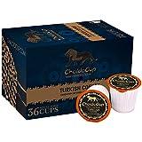 ChaldoCup Turkish Coffee (Medium Dark Roast Coffee), 36ct. Non-Filtered Grounds & Flavored Blends, Recyclable Single Serve Dark Roast Coffee Pods – 100% California Roasted Coffee, Dark Roast K Cups Compatible, Ibrik