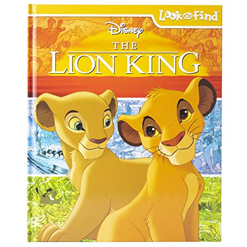 The Lion King Look & Find Activity Book (Hardcover)  $5 at Amazon