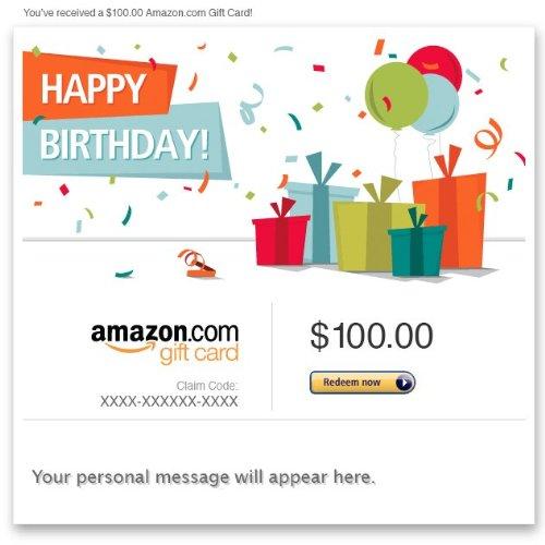 بطاقة Amazon eGift Card - عيد ميلاد