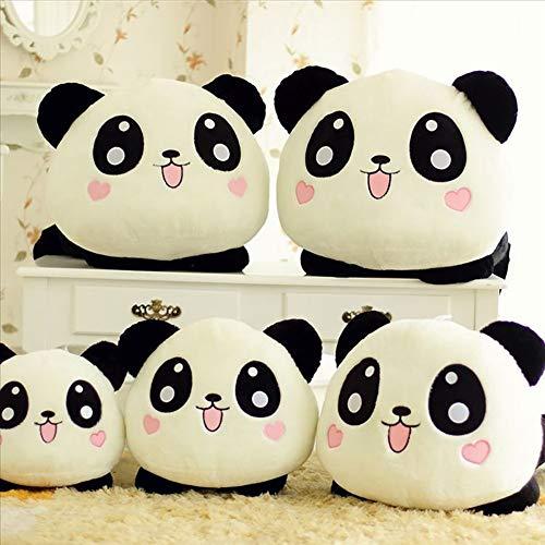 Homeofying Lindo Muñeco De Peluche De Juguete Panda De Peluche Panda Cojín De Cama Regalo De Cumpleaños Para Niños Nordic Faux Plush Cojín De Juguete Para Sofá Cama Oficina 1# Los 55cm