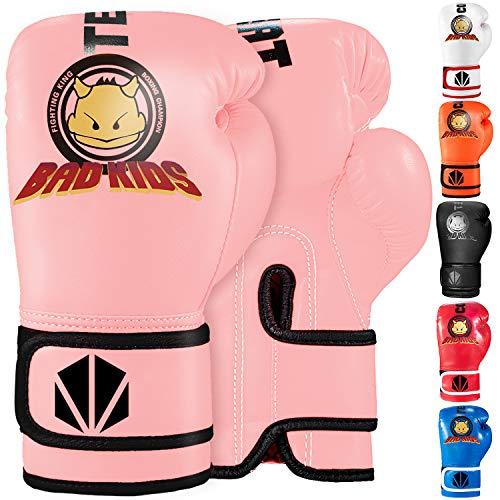 TEKXYZ Kinder-Boxhandschuhe Bad Kids...