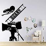jiuyaomai Bunte Kino Film Film Wandaufkleber Vinyl Selbstklebende Tapete Für Jungen Schlafzimmer Dekoration Aufkleber Wandbild Poster White 42 cm X 63 cm
