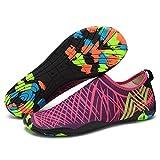 B/H Zapatos de Agua Escarpines,Zapatos de baño Descalzos,Zapatos de Snorkel de Secado rápido, Zapatos de Playa para niños-M_40 / 25.3CM