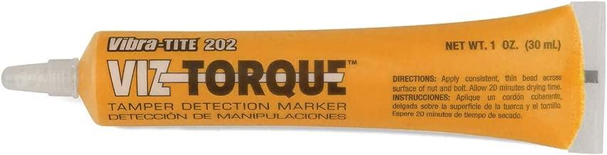 Viz-Torque Tamper Detection Marker Orange