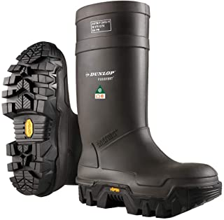 Sponsored Ad - Dunlop E90203307 Explorer Thermo Full Safety Boots with Slip-Resistant Vibram Rubber Sole and Steel Toe, 10...