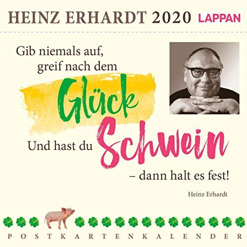 Gib niemals auf, greif nach dem Glück 2020 – Ein Heinz Erhardt-Postkartenkalender: Heinz Erhardt Postkartenkalender