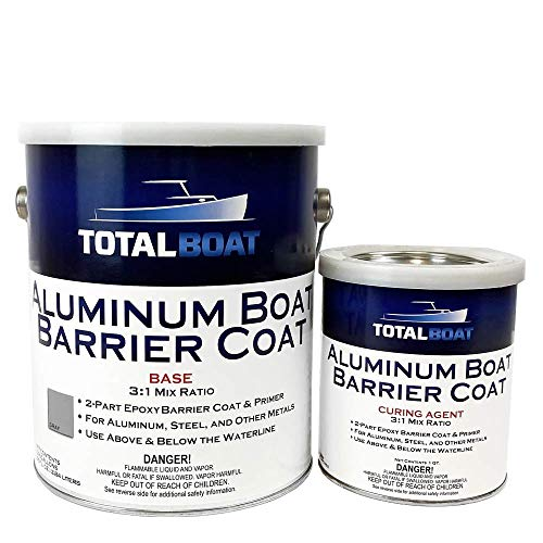 TotalBoat Aluminum Boat Barrier Coat (Gallon, Gray)