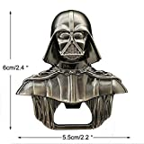 Abrebotellas Star Wars de Bayram - Llavero Abrebotellas de Darth Vader de Star Wars - Abridor Metálico de Vino y Cerveza con Chapa - el Regalo de Fiesta Perfecto Herramientas de Cocina de Recuerdo