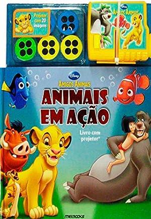 Disney Amigos Animais: Animais em Ação – Livro com projetor
