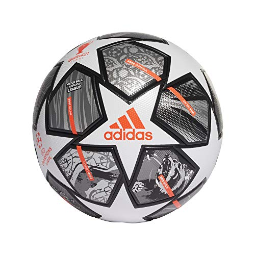 adidas UCL Finale Soccer Ball,Pantone/White,4