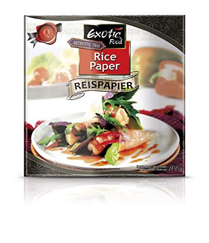 Arnaboldi Fogli di Riso per Involtini Primavera al Forno, Rice Paper per Involtino Thai [4 Confezioni da 100g, Totale 400g]