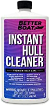Better Boat Hull Cleaner for Fiberglass and Painted Boats Cleaning Marine Stain Remover 32oz