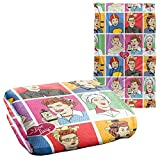 Trevco I Love Lucy Comic Silky Touch Super Soft Throw Blanket 36' x 58'