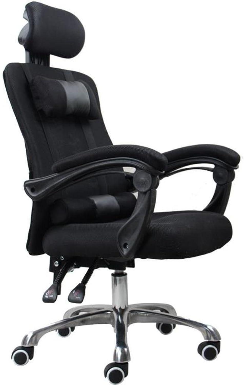 Hoher lehne Gaming Stuhl Pc Gaming-Stuhl mit unterstützung der lendenwirbelsule Massage Bürostuhl schreibtischstuhl Ergonomischer chefsessel-D