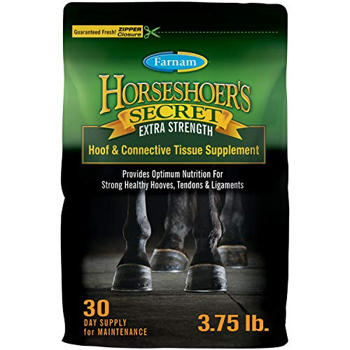 Farnam Horsehoer's Secret Extra Strength Connective Tissue and Hoof Supplement for Horses 3.75 pound