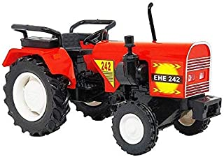 Online Collections Mahindra Echier Farm Tractors Toy (Red) Color May Vary.