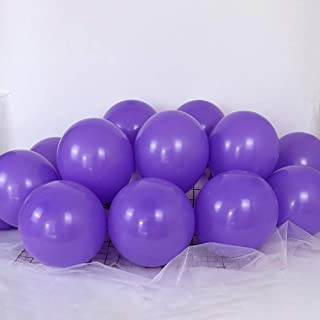 Tim&Lin 5 inch Purple Balloons Quality Small Purple Balloons Premium Latex Balloons Helium Balloons Party Decoration Suppl...