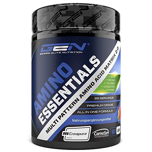 Amino Essentials Pulver 507 g - All-in-one Post Workout Recovery Shake mit...