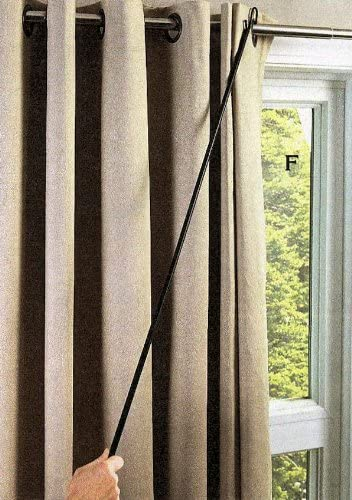 """high quality 42"""" outlet sale UNIVERSAL DRAPERY online sale PULL ROD BY JUMBL sale"""